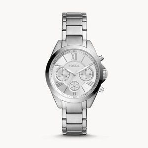 🌼 NWT Fossil stainless steel watch